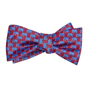 republican elephant red bow ties