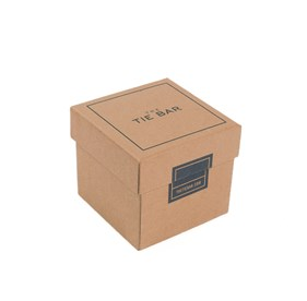 Small Craft Gift Box Brown Gift Box