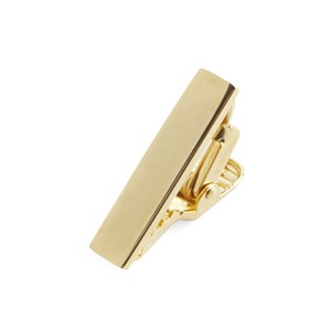 gold align gold tie bar