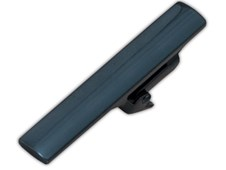 Tie Bars - Metallic Colored Tie Bar - Teal