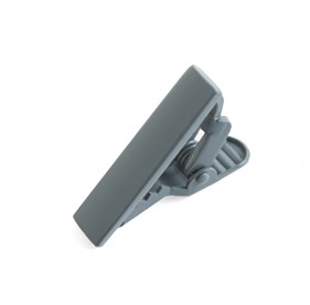 Matte Color Grey tie bar