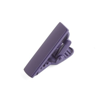 Matte Color Purple Tie Bar