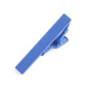 Cobalt Blue Matte Color tie bar
