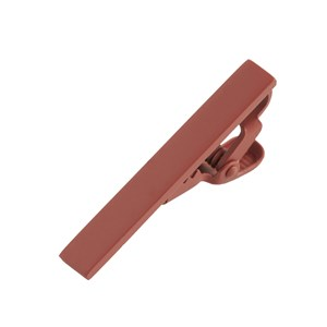 matte color rust tie bar