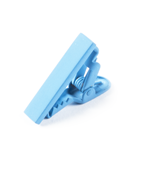 "Matte Color - Light Blue - 1"" - Tie Bars"