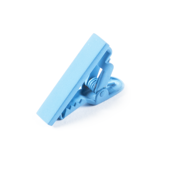 Light Blue Matte Color Tie Bar