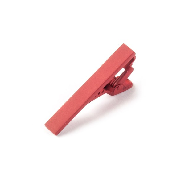 Classic Red Matte Color Tie Bar