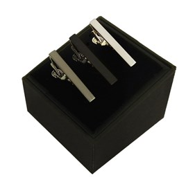 3 Pack Set Black tie bar