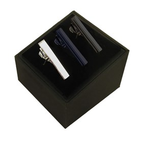 Essential 3 Pack Set Black tie bar