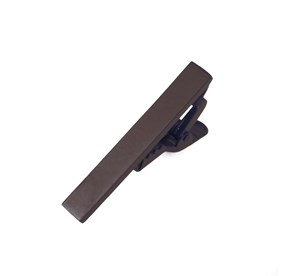 Chocolate Brown Matte Color tie bar