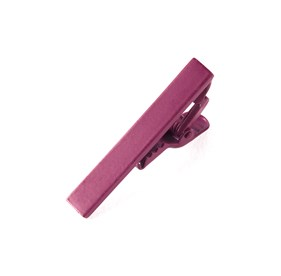 Raspberry Matte Color tie bar