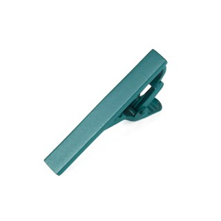 Matte Color Green Teal Tie Bar