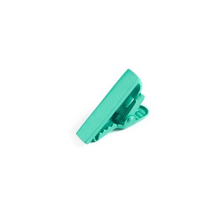Matte Color Mint Tie Bar