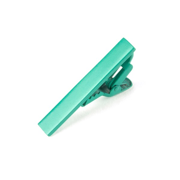 Mint Matte Color Tie Bar