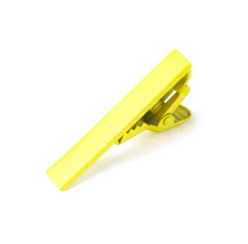 Lemon Matte Color tie bar