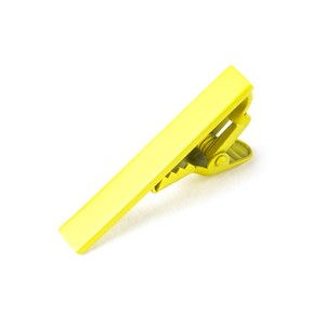 matte color lemon tie bar