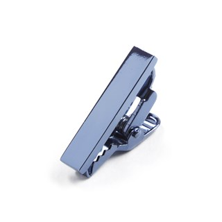 metallic color slate blue tie bar