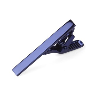 Metallic Color Royal Blue Tie Bar