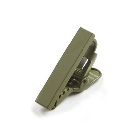 Olive Green Matte Color tie bar
