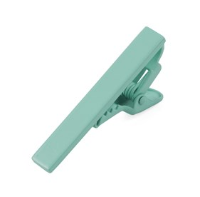 Matte Color Spearmint tie bar