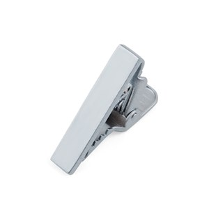 metallic color silver tie bar