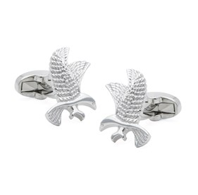 Silver Windsor The Eagle Cufflinks