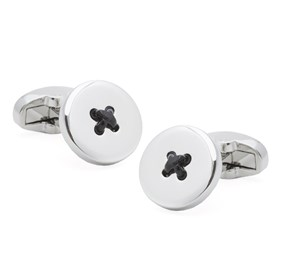 Black Buttons Cufflinks