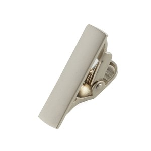 silver shot platinum tie bar