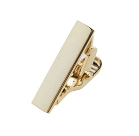 Gold Shot Gold tie bar