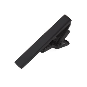 matte color black tie bar