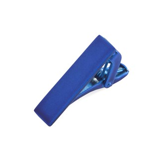 Matte Color Royal Blue Tie Bar
