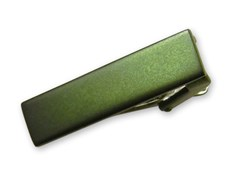 Tie Bars - Colored Tie Bar - Hunter Green