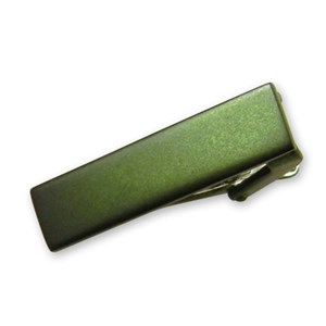 matte color hunter green tie bar
