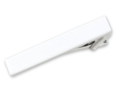 White Matte Color Tie Bar