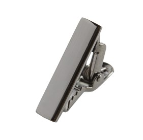 Gun Metal Gun Metal Shot tie bar