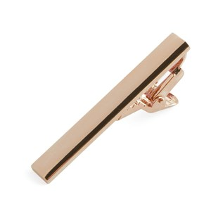 rose gold shot rose gold tie bar