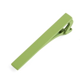 Apple Green Matte Color tie bar