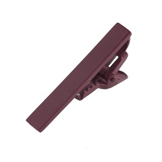 Matte Color Wine Tie Bar