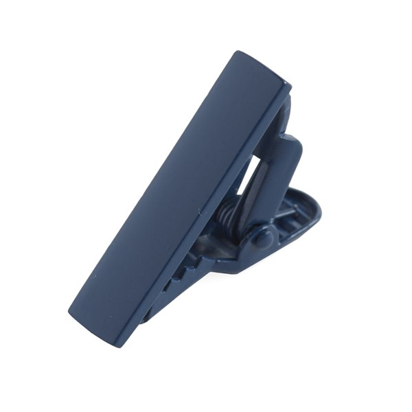 Navy Matte Color Tie Bar