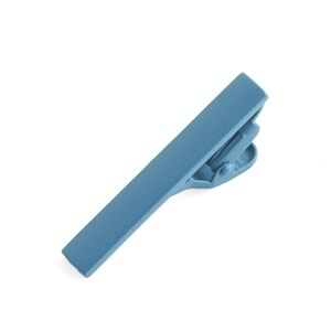 matte color teal tie bar