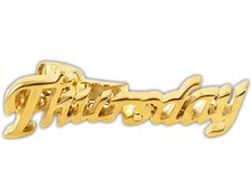 TIE BARS - THURSDAY - GOLD
