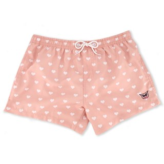 Love Is Love Swim Trunk Millennial Pink Gifting