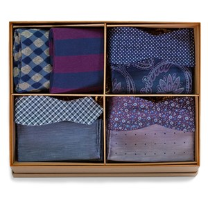 the purple and navy style box purple gift set