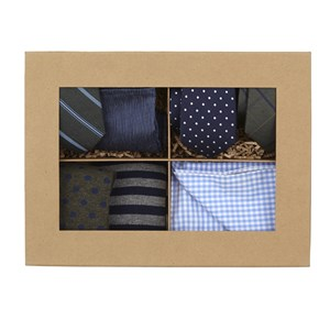 hunter green + navy style box hunter green gift set
