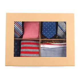 Red The Red + Navy Style Box ties