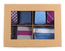 Ties - The Azalea + Blues Style Box - Azalea