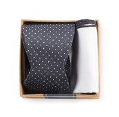 Bow Ties - Charcoal Grey Bow Tie Box - Charcoal
