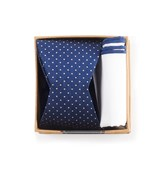 Bow Ties - Navy Bow Tie Box - Navy