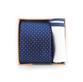 Navy Navy Tie Box ties