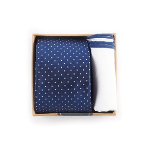 navy tie box navy gift set